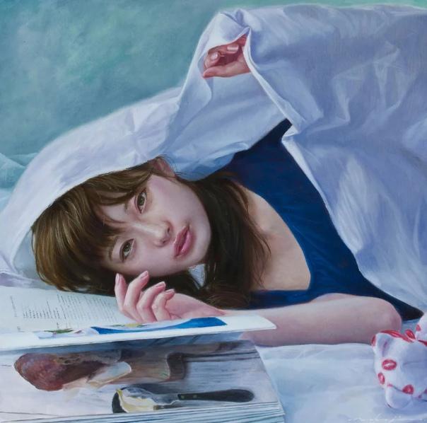 Накадзима Кэнта ( / enta Naajima современный японский художник-реалист. Родился в 1984 году в Токио. Высшее образование получил в Университете изящных искусств Мусасино одном из ведущих