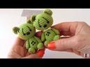 Oso en crochet para muñeca María amigurumis by Petus English subtitles