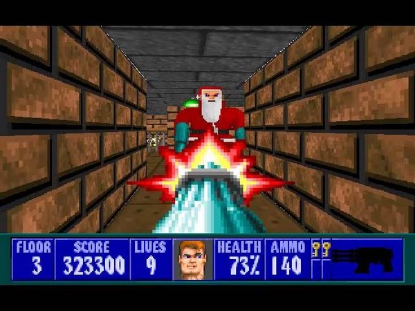 Wolfenstein 3D Christmas Special - Level 3
