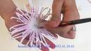 How to make Spider Chrysanthemum Clay Flower (Dạy làm hoa đất sét Cúc Nhện chi tiết, đầy đủ )
