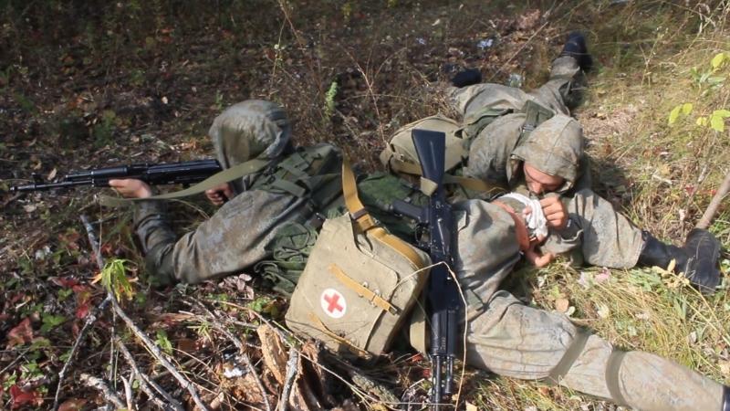 Спецназ ЦВО уничтожил колонну условных террористов на учении под Самарой
