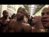 Backstage at the 2013 NPC/IFBB Pittsburgh: Phil and Branch Mess with the New Guy