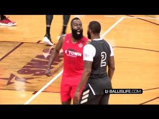 Команда James Harden & Russell Westbrook против команды Travi$ Scott & DeMar DeRozan