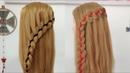 Como Hacer Peinados con Trenzas de 4 Cabos y Cordones by Belleza sin Limites