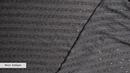 Ткань плательная темно серый Полосы пайетки трикотаж