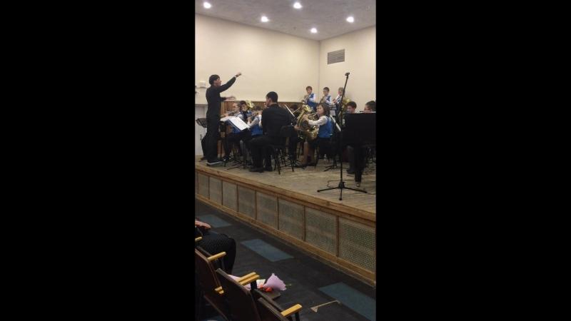 В.Агапкин Голубая ночь - Детский духовой оркестр Akadem Brass