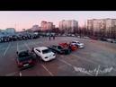 Аэросъемка дрифта GANGBANGERS ТРК Арена 2015