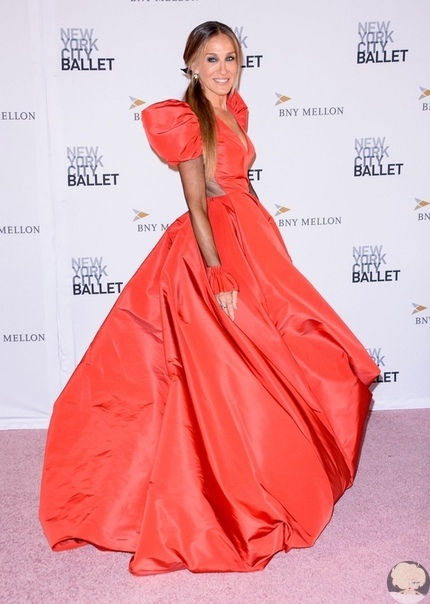 nyc ballet fall fashion gala 2018 сара джессика паркер и мэттью бродерикгвендолин кристикелли рипа