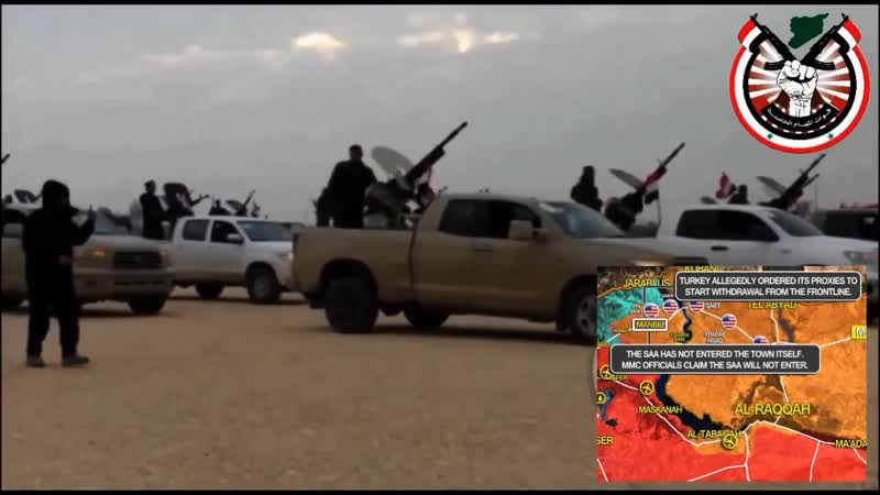 Συρία 31 12 2018 Αμερικανικά Στρατεύματα φεύγουν από την Αλ Χάσεκε (ΒΑ Συρία)