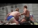 Danshoku Dino vs. Konosuke Takeshita vs. Rey Paloma (DDT - Road to Ryogoku 2018 ~ Dramatic Dream Tokasan)