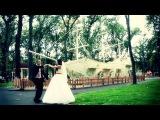 №1 Веселый и яркий свадебный клип Виталик и Эля