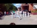 Выступление школы ABADA-CAPOEIRA TOGLIATTY на празднике сыра