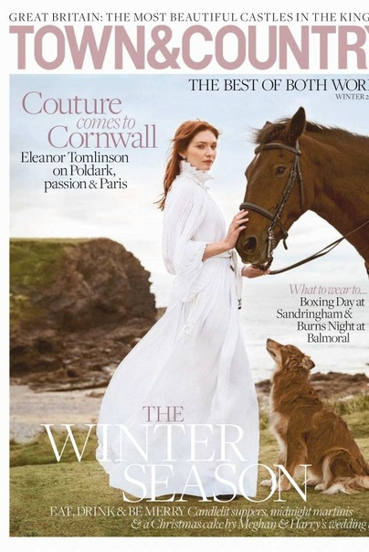 Элеонор Томлинсон Town & Country Magazine, Декабрь 2018