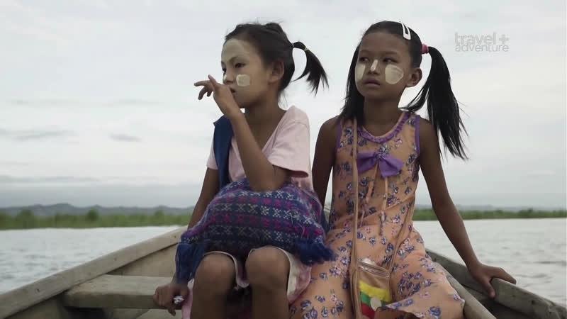 Дорога в школу. Бирма. Сан и Ниу.