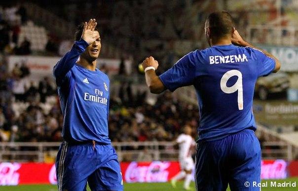 «Райо Вальекано» 2-3 «Реал Мадрид»