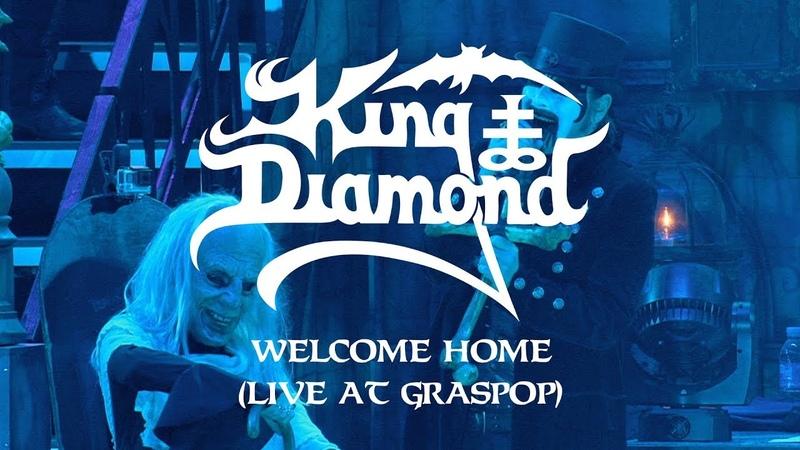 King Diamond Welcome Home (Live at Graspop) (CLIP)