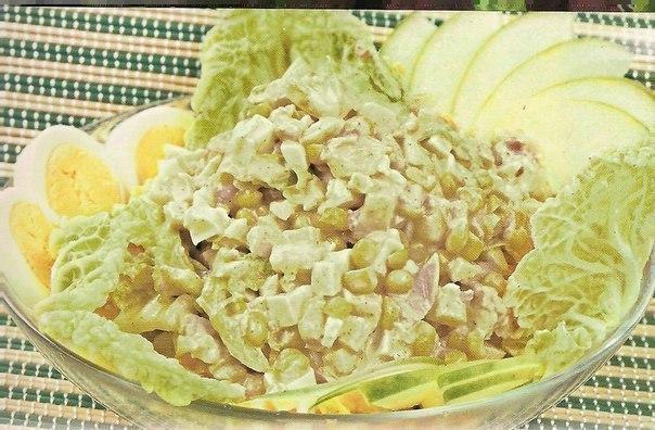 Рецепт салата с китайской