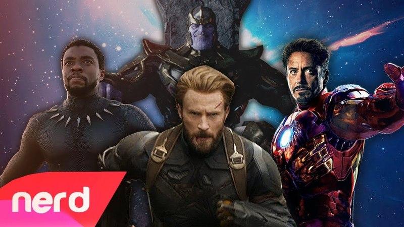 Avengers: Infinity War Rap Battle | NerdOut ft DaddyPhatSnaps, Dan Bull, JT Music More