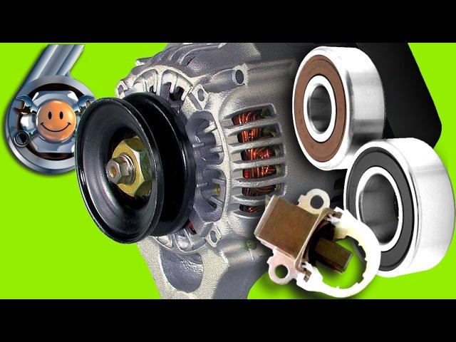 Ремонт генератора Тойота. Гараж №6 (на примере 3S-FE)