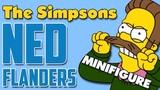 Нед Фландерс Симпсон Минифигурка Лего Обзор минифигурки Неда Фландерса Lego Ned Flanders Simpsons