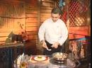 Телекафе Кухни мира Кубинская Салат Примавера Марискада с лангустином Лангуст Марипоса Бананы по кубински