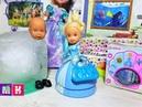 ЭЛЬЗА РАСКОЛДУЙ! КАТЯ И МАКС ВЕСЕЛАЯ СЕМЕЙКА Мультики с куклами Барби новые серии