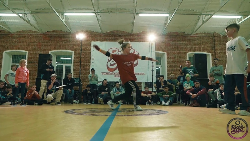ROCKING STAR 2018 | BREAKING JUNIOR 1x1 |bboy Pankick vs bgirl Karina | 1/4 final