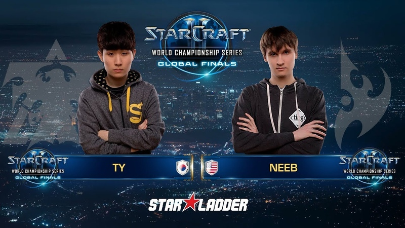 2018 WCS Global Finals Ro16, Group A, Match 2: TY (T) vs Neeb (P)