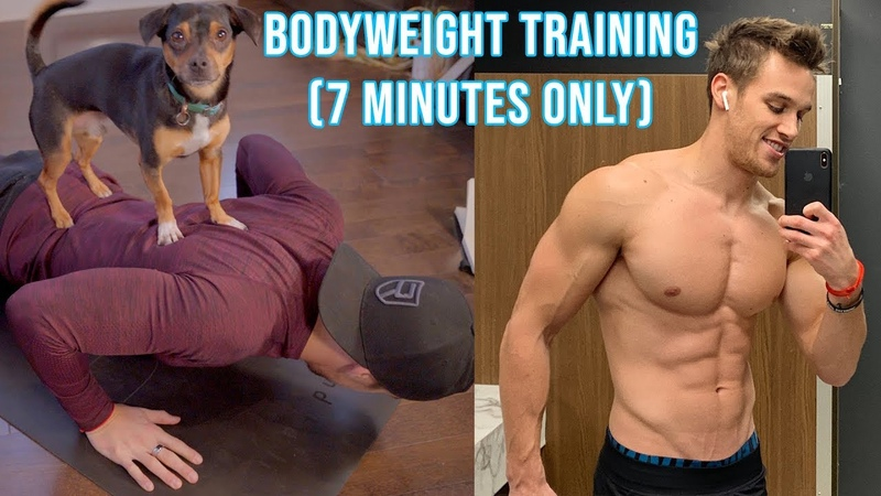 THE 50 RULE HIIT AT HOME (No Weight Required) - 7min Only   SHREDMAS 14