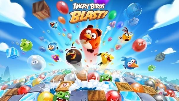Angry Birds Blast v1.9.9 Mod apk