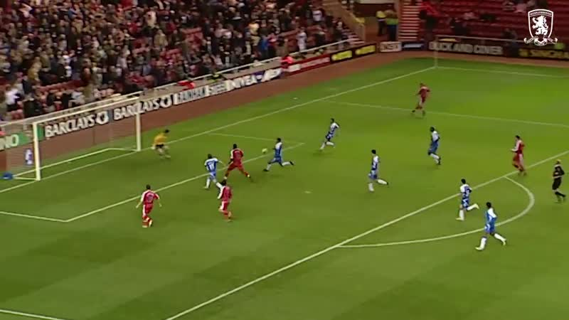 Boro's best four goals against Wigan at Riverside
