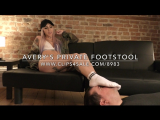 Avery's Private Footstool - www.clips4sale.com/8983/18633729