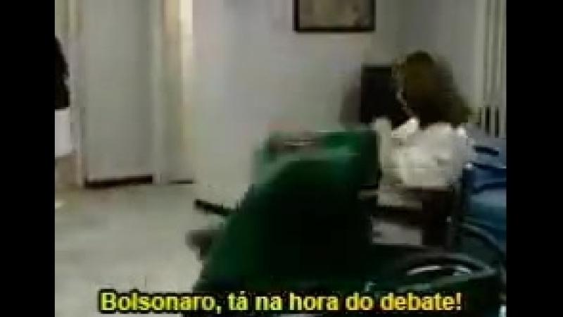 BolsonaroCagao não pode ir a debates pq está dodói - - Ass. é vdd esse bilhete.mp4
