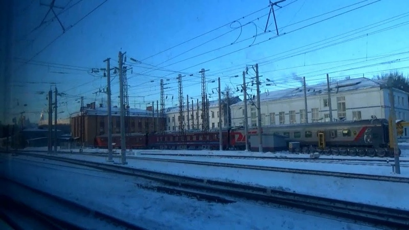 От станции Автоприбор до станции Владимир-Пассажирский на пригородном ЭД9М-0229 Гороховец-Владимир