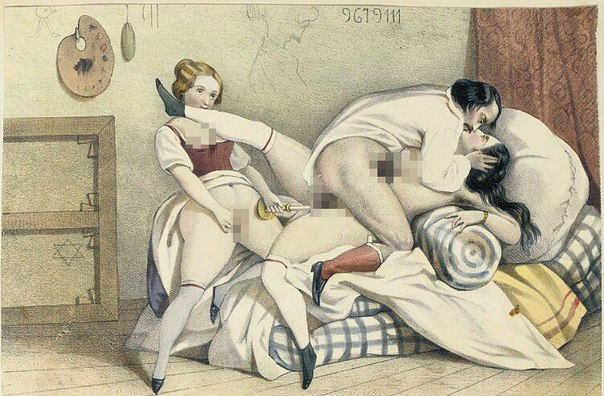 Ретро эротика: секс в средневековье