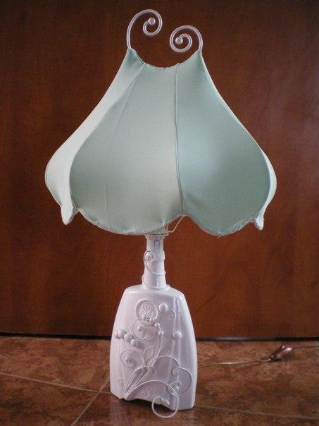 Орехи.ТВ - Мастер-класс. Как сделать светильник из бутылки.