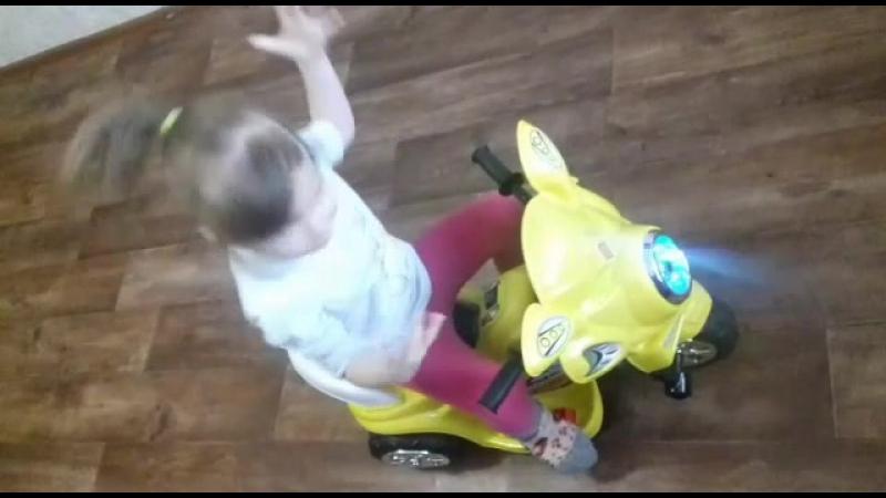 Рубрика фото и видео от наших подписчиков Юная мотогонщица