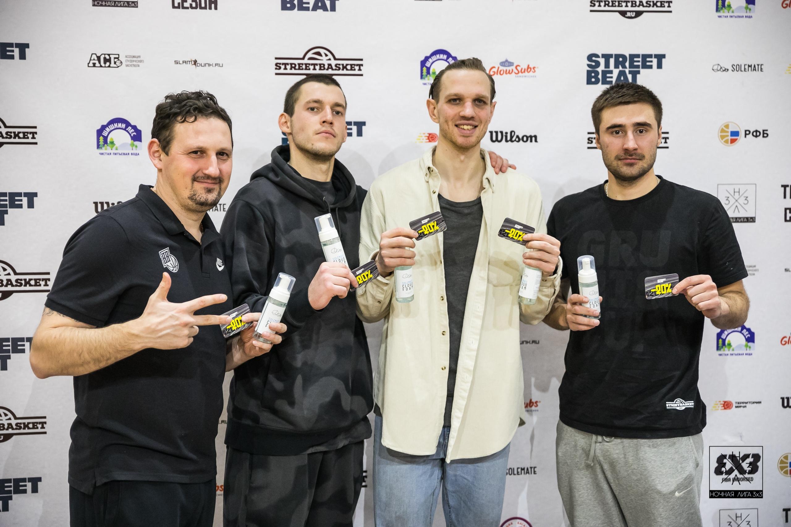 «Нижний Новгород» в призерах третьего тура «Ночной лиги 3х3»