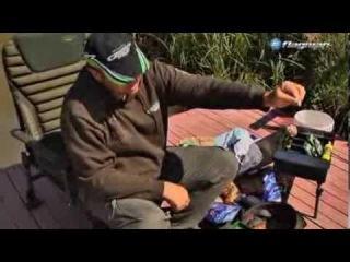 Ловля карпа  с использованием растворимых материалов PVA Carp Pro  на коммерческом водоеме