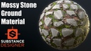 Substance Designer 20 - Mossy Stone Ground