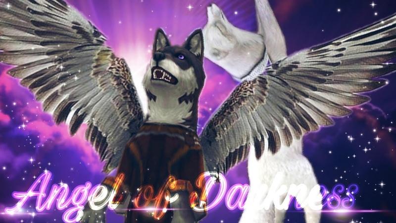 WildCraft: • Angel of Darkness • [Music Video] A Wolf - Fox Love Story