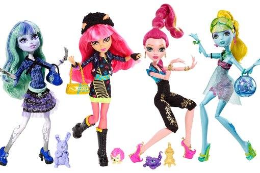 купить куклы школа монстр хай