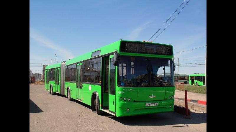 Автобус Минска МАЗ 105 гос № АК 4358 7 марш 40 20 03 2019