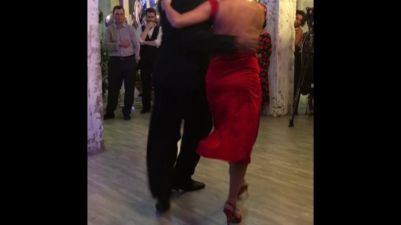 1/2 Veronica Palacios Omar Quiroga. Adornos Center. Moscow.12.10.2018.Milonga THE YEAR OF LOVE