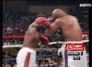 Evander Holyfield vs George Foreman April 19 1991 for the WBA WBC IBF and Lineal Heavyweight championships