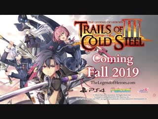 The Legend of Heroes  Trails of Cold Steel III - трейлер для запада.