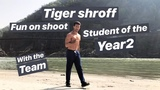 Tiger shroff doing RAFTING in GANGA ji