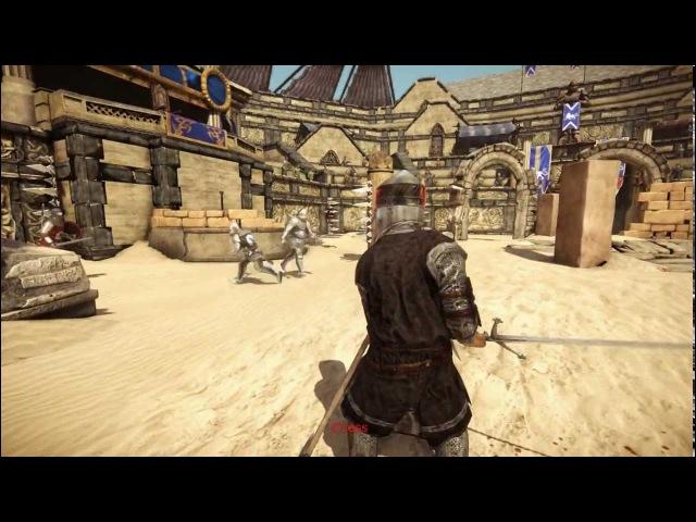 Нереальный тяжелый рыцарь Chivalry: Medieval Warfare