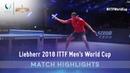 Vladimir Samsonov vs Wong Chun Ting I 2018 ITTF Men's World Cup Highlights (R16)