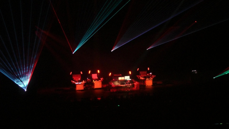 Jean Michel Jarre in Crocus City Hall 18.10.2011 - part 6
